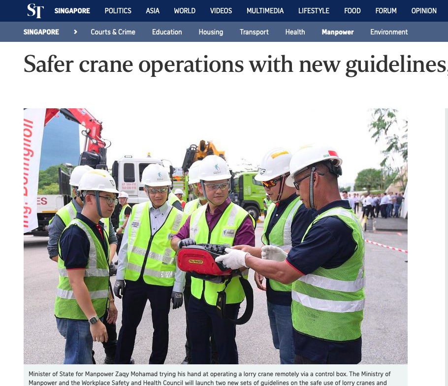 Safer crane operations with new guidelines, technology