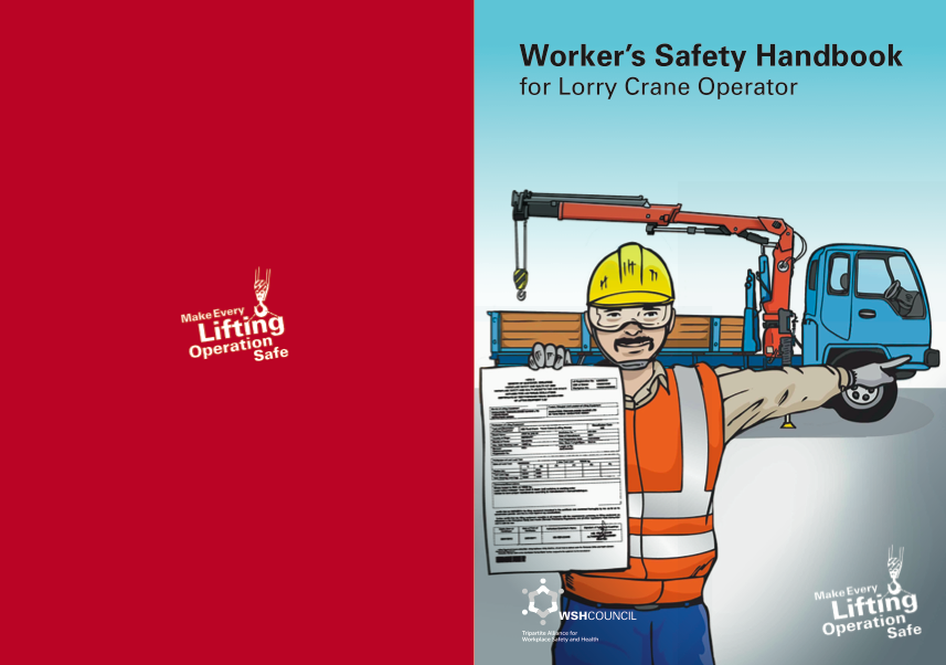 Worker's Safety Handbook for Lorry Crane Operator
